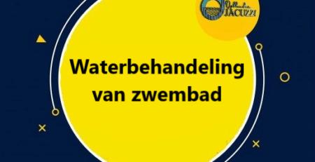 wateronderhoud en waterbehandeling zwembad